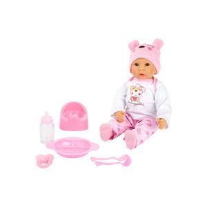 Babypop Marie met accessoires