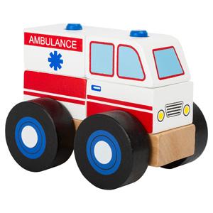 bouwvoertuig ambulance