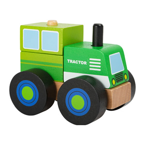 Bouwvoertuig tractor