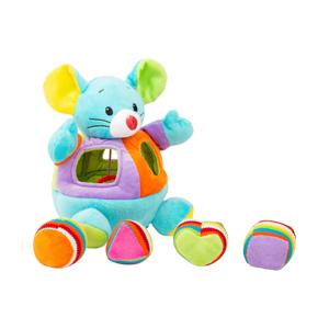 Stoffen speelgoedmuis