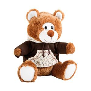 Teddybeer met hoodie