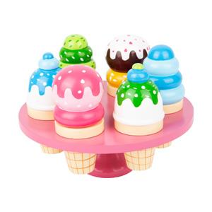 wafel ijsjes met display